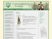 Website des 10. Husaren-Regiment i. Tr. Stendal e. V.